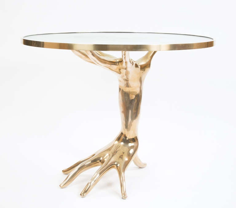 Limited Edition Bronze Dichotomy Table 4