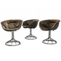 A Pair Of Quot Alky Quot Chairs By Giancarlo Piretti At 1stdibs