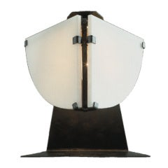 Butterfly Table Lamp by Pierre Chareau