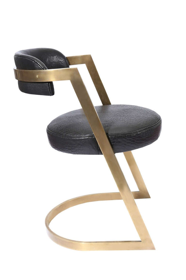 Studio Dining Chair by Kelly Wearstler In Excellent Condition For Sale In West Hollywood, CA
