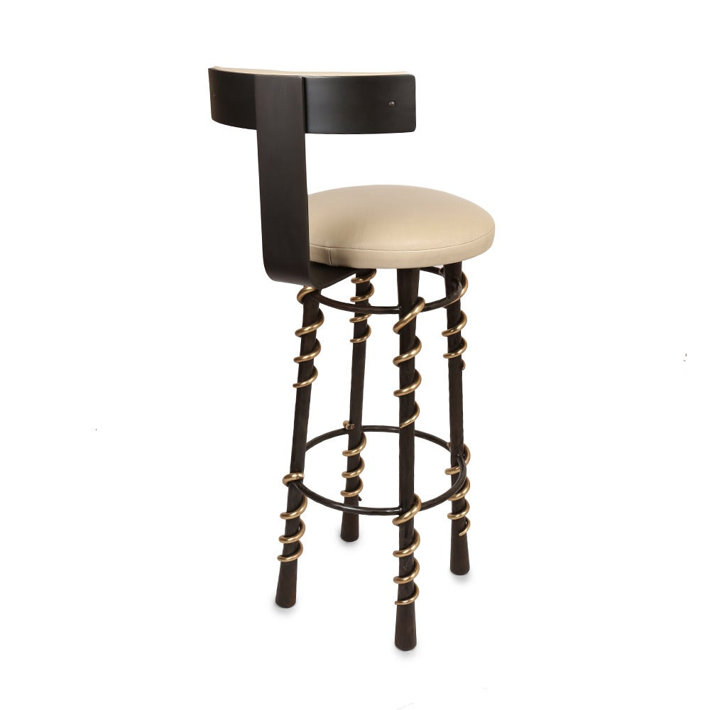 Serpent Stool By Kelly Wearstler For Sale At 1stdibs