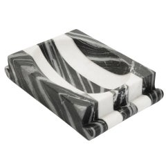 Striped Marble Dish by Kelly Wearstler