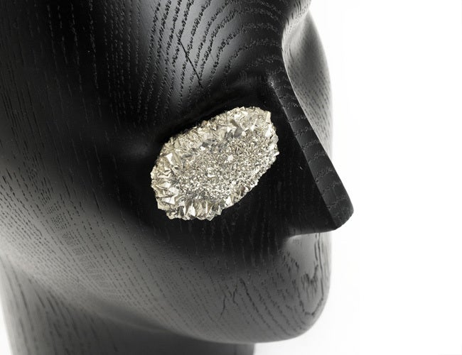 American Pyrite Eye Sculpture by Kelly Wearstler For Sale