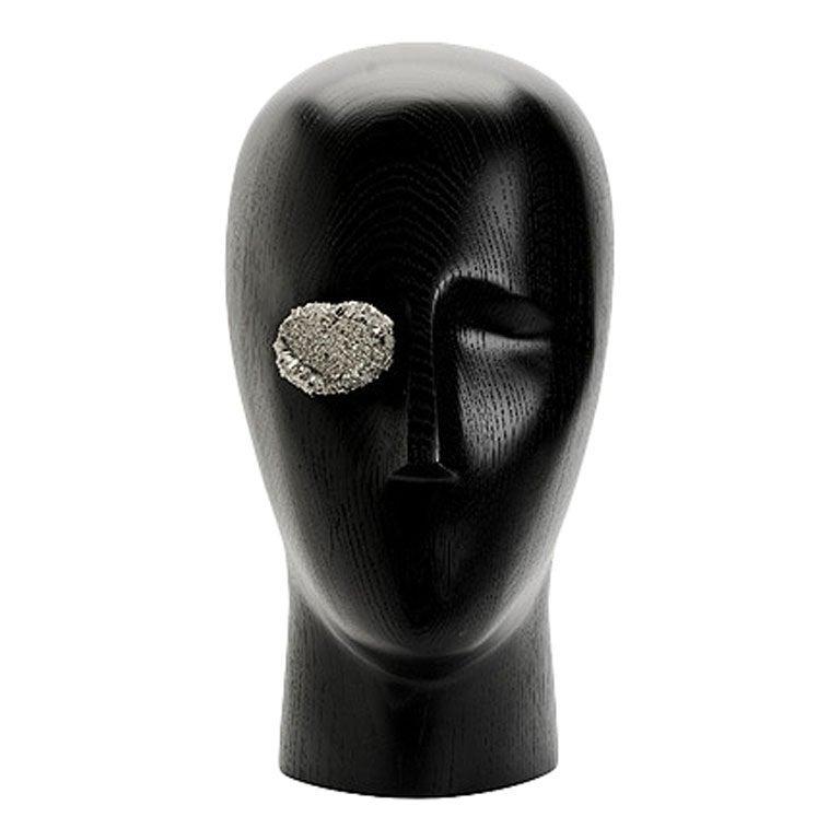Pyrite Eye Sculpture by Kelly Wearstler For Sale