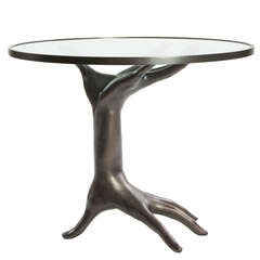 Limited Edition Blackened Bronze Dichotomy Table