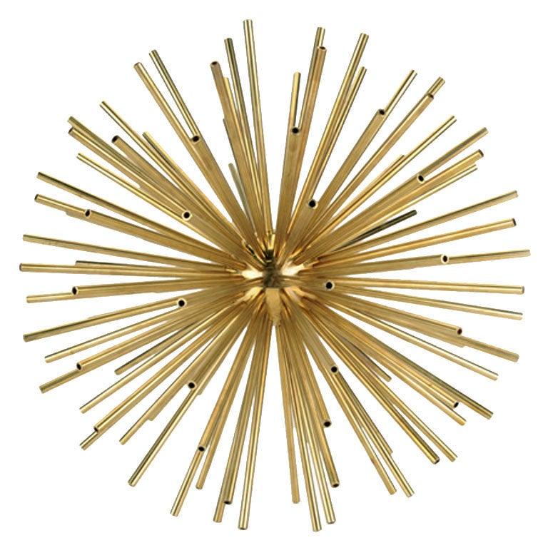 "18"" Patina Brass Kaleidoscope By Kelly Wearstler At 1stdibs"