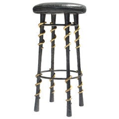 Serpent Stool by Kelly Wearstler