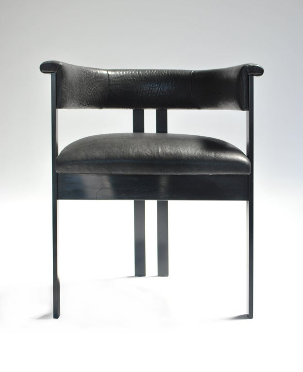 Oil Rubbed Bronze Chairs ~ Elliott dining chair in oil rubbed bronze for sale at stdibs