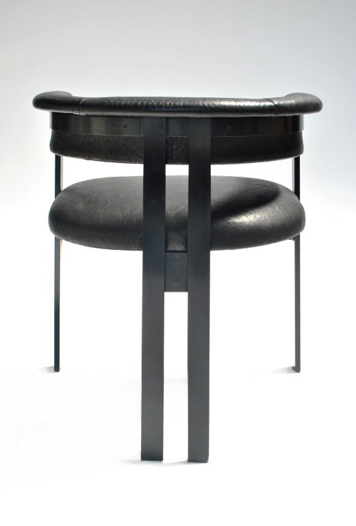 Oil Rubbed Bronze Chairs ~ Elliott dining chair in oil rubbed bronze at stdibs