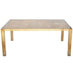 Bronze Precision Dining Table