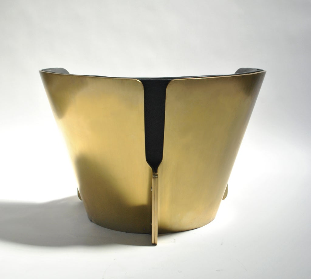Solid Brass Patina Raceme Chair By Kelly Wearstler At 1stdibs
