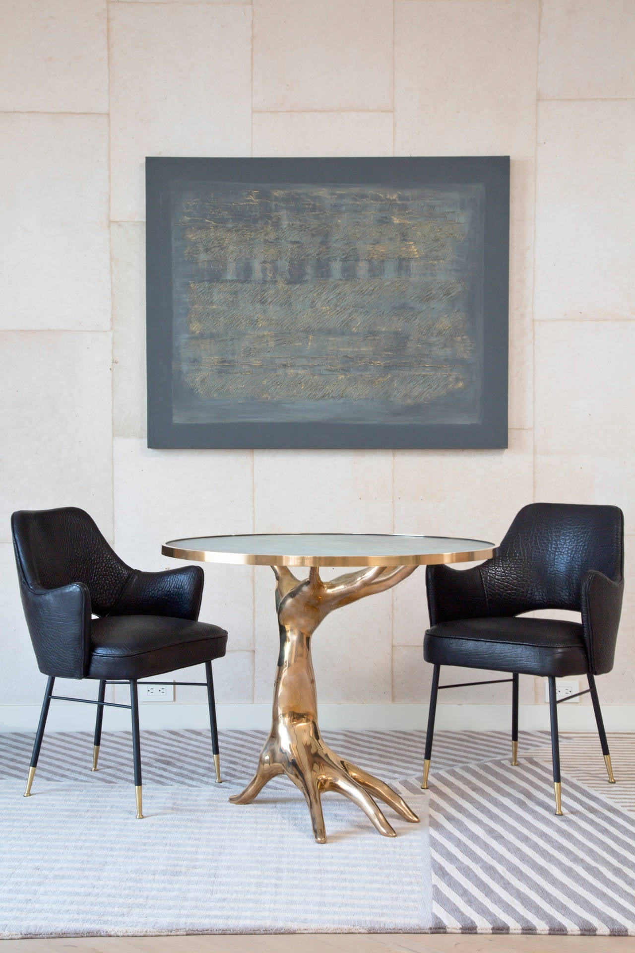 Limited Edition Bronze Dichotomy Table 2