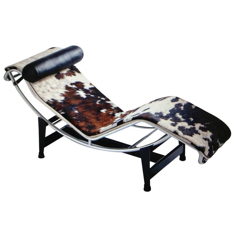 lc4 chair chaise lounge charlotte perriand by le corbusier at 1stdibs. Black Bedroom Furniture Sets. Home Design Ideas