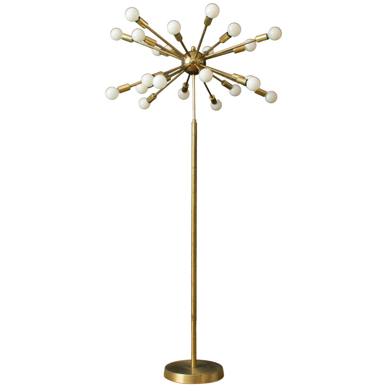vintage mid century sputnik floor lamp at 1stdibs. Black Bedroom Furniture Sets. Home Design Ideas