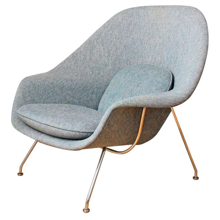 vintage knoll womb chair by eero saarinen at 1stdibs. Black Bedroom Furniture Sets. Home Design Ideas