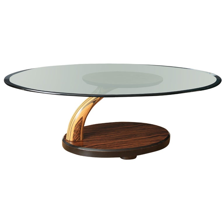 Vintage Mid Century Coffee Table By Henredon At 1stdibs