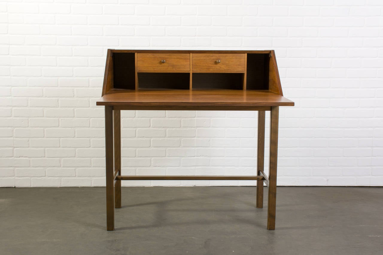 Scandinavian Modern Secretary Desk at 1stdibs