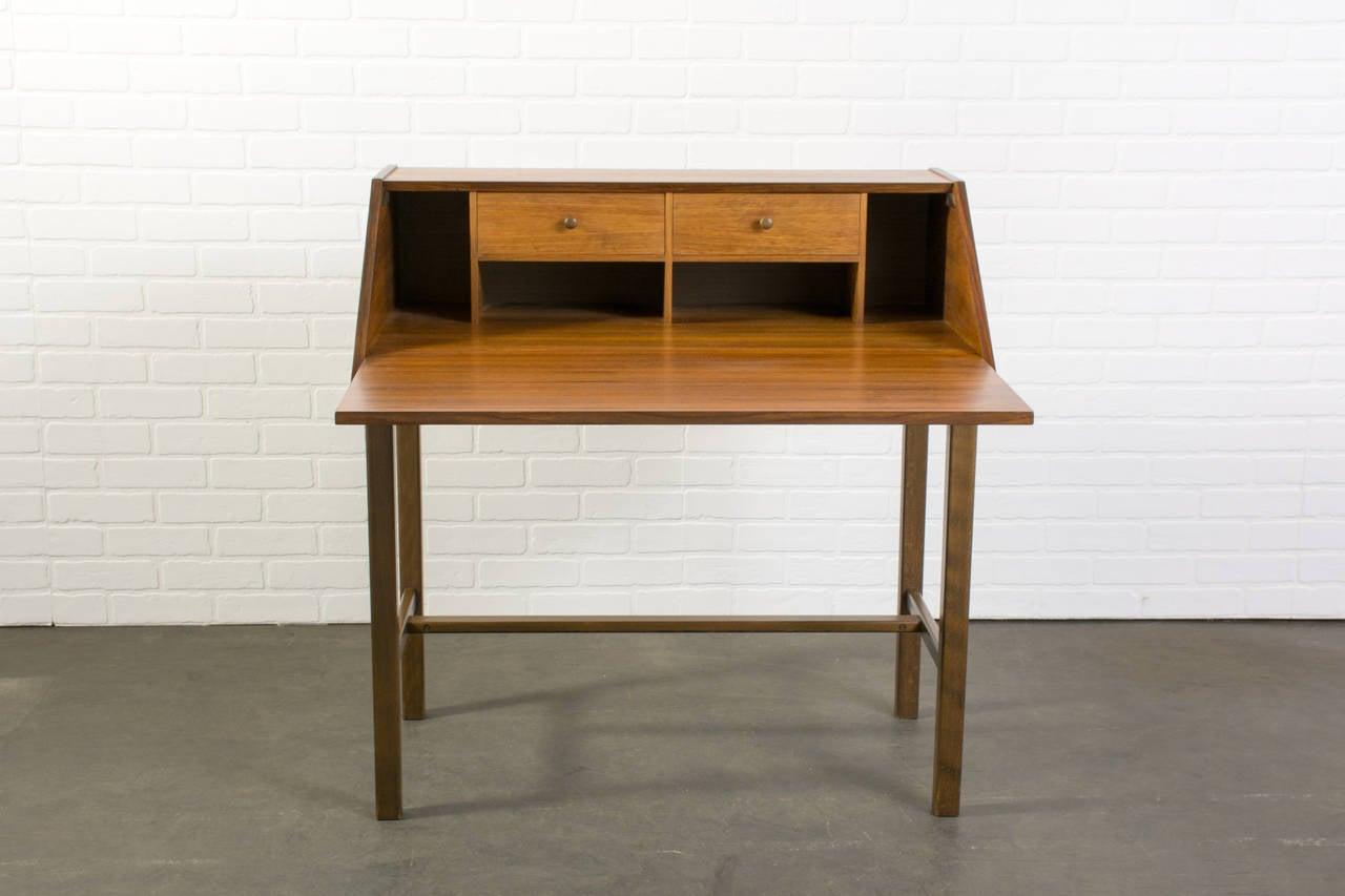 scandinavian modern secretary desk at 1stdibs. Black Bedroom Furniture Sets. Home Design Ideas