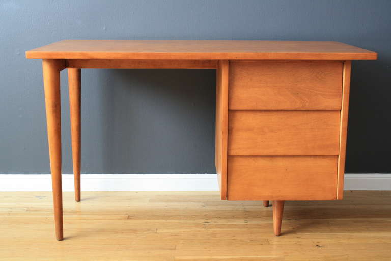 Mid Century Modern Vintage Desk By Florence Knoll For