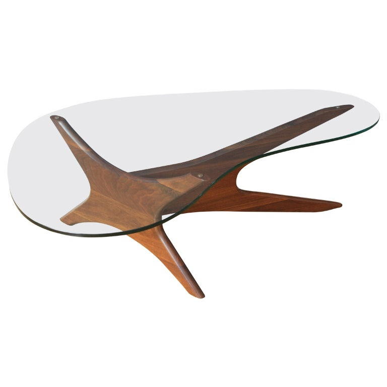 Vintage Coffee Table By Adrian Pearsall