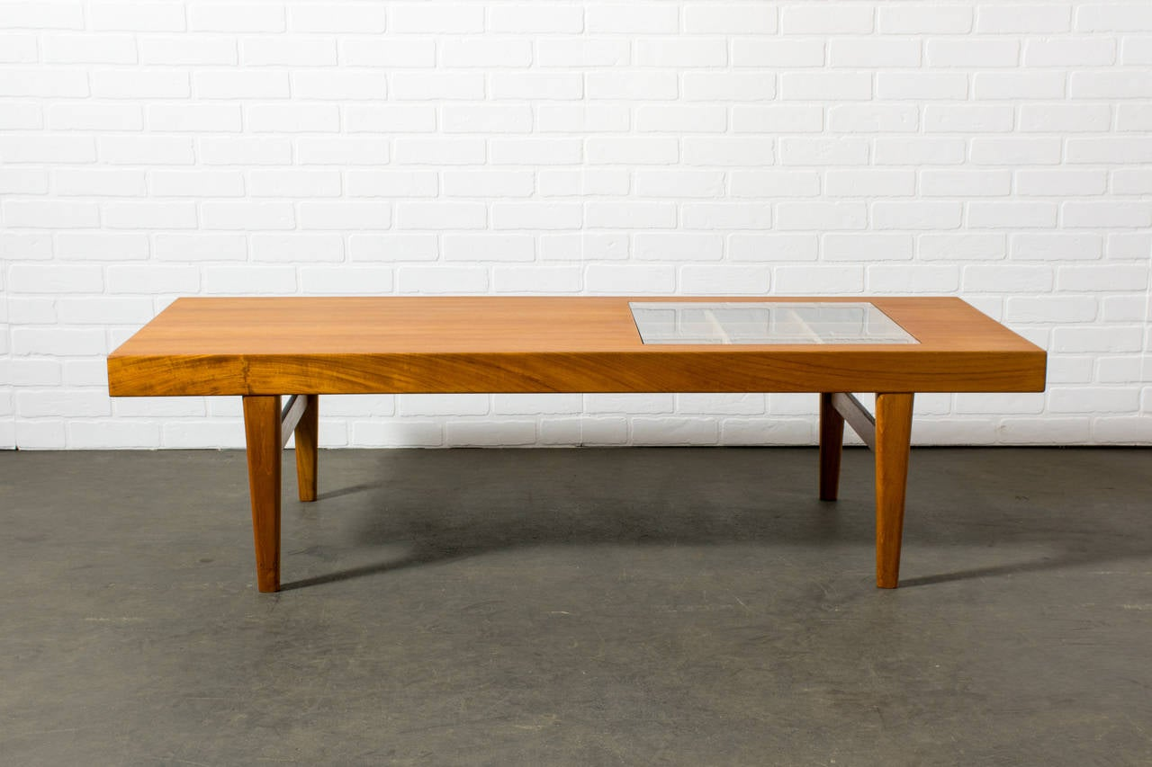 Rare Danish Modern Coffee Table By Selig At 1stdibs