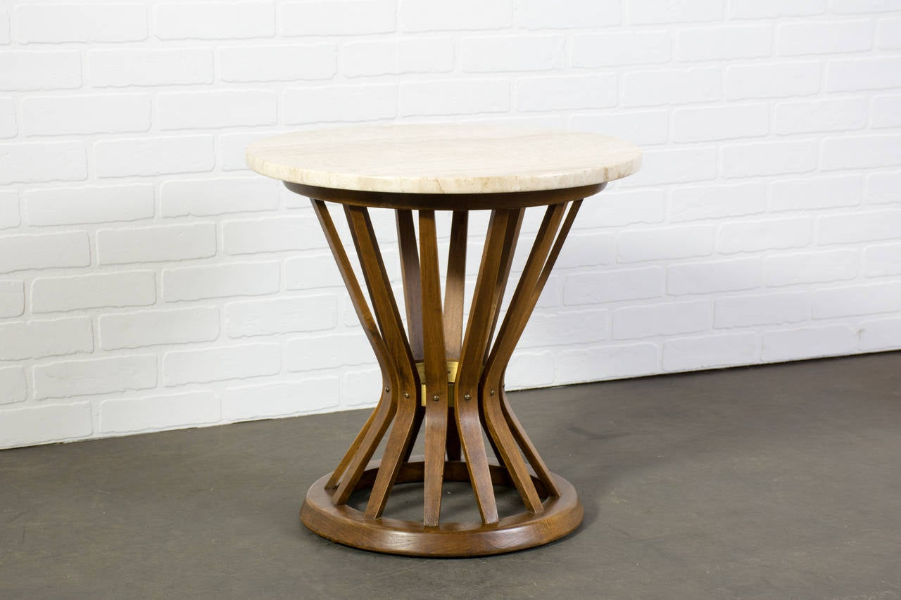 vintage midcentury side table by edward wormley for dunbar 2