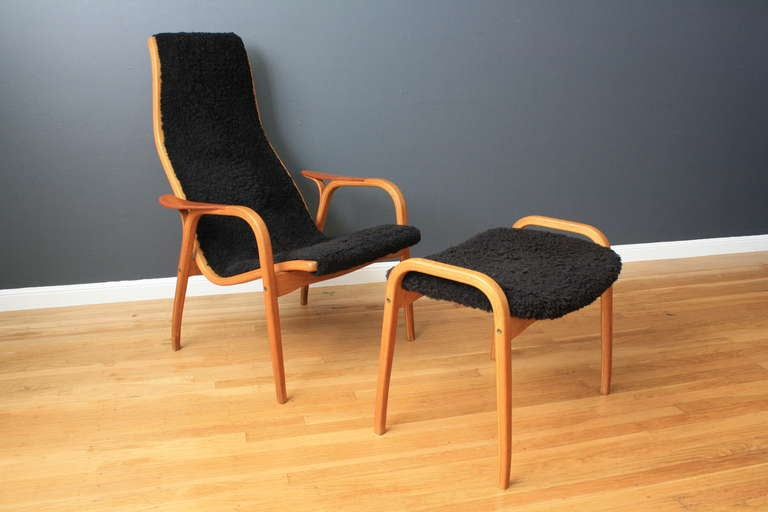 Vintage Lamino Chair by Yngve Ekstrom at 1stdibs