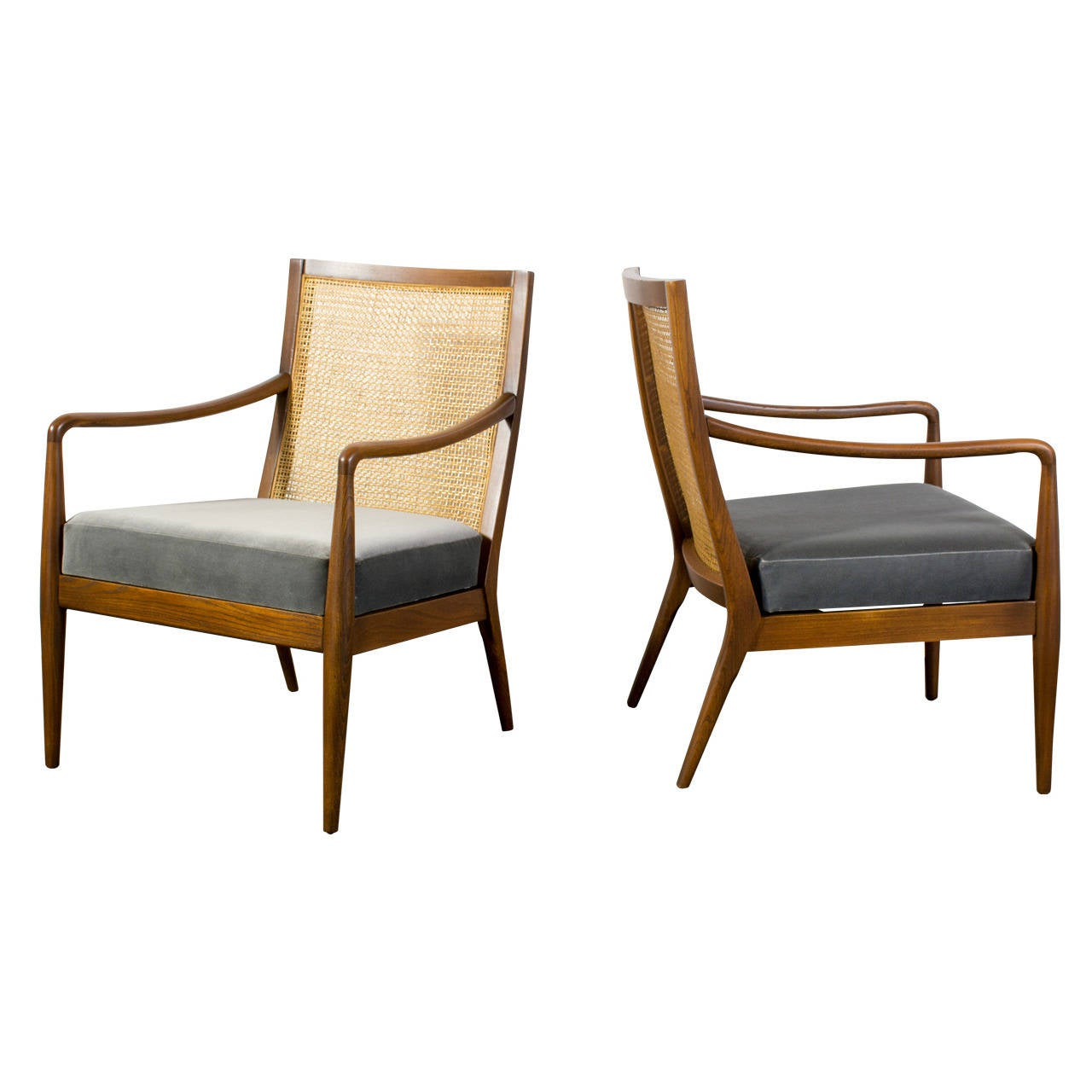 Pair Of Vintage Mid Century Chairs By Richardson Nemschoff At 1stdibs