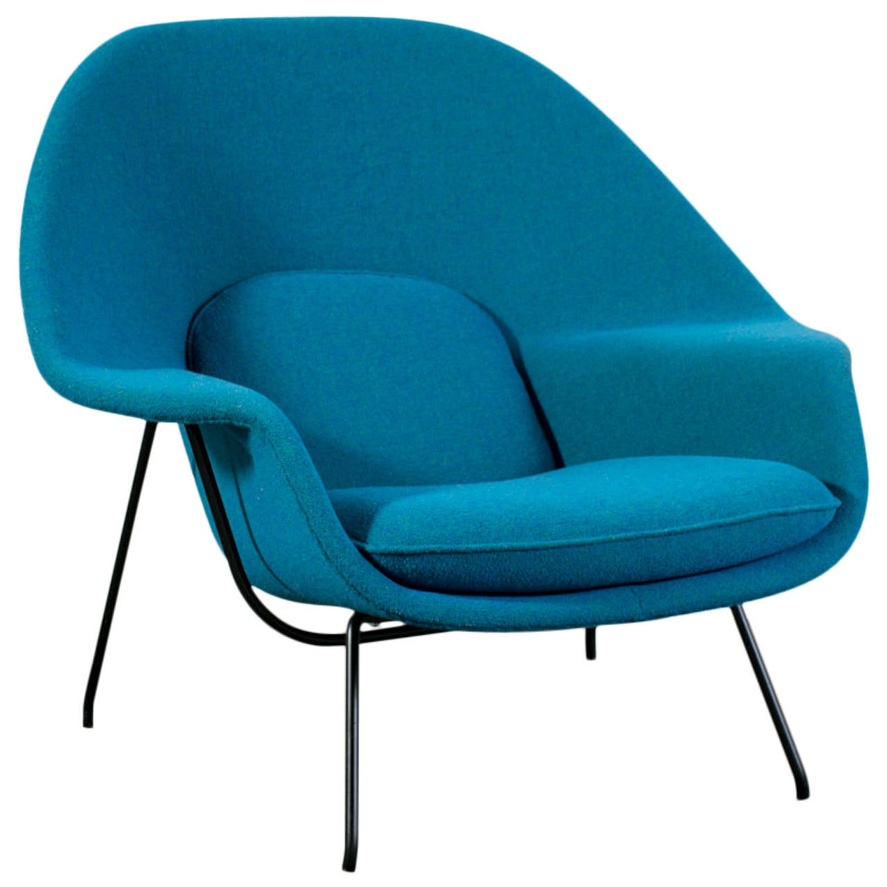 Womb Lounge Chair vintage womb chaireero saarinen for knoll at 1stdibs