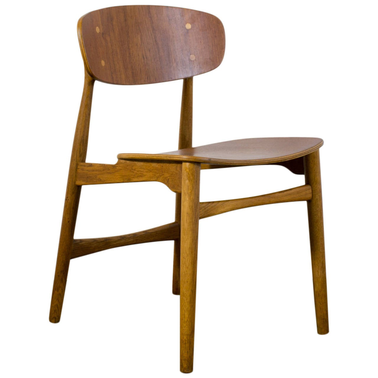 this danish modern teak side chair is no longer available