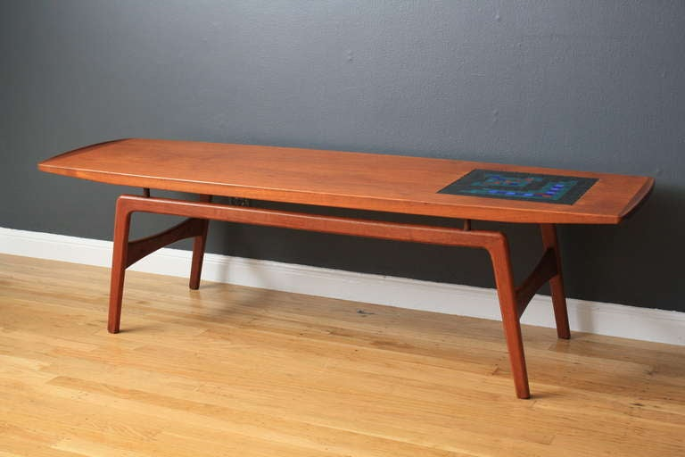 Danish Modern Coffee Table by Hovmand Olsen 3 - Danish Modern Coffee Table By Hovmand Olsen At 1stdibs