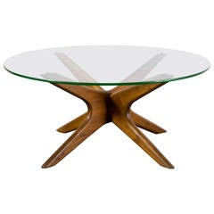 Vintage Mid-Century Coffee Table by Adrian Pearsall