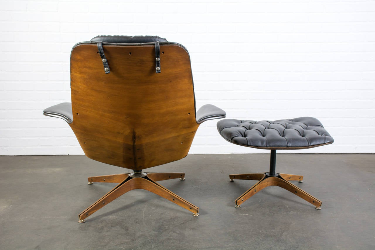 28 mid century lounge chair and ottoman s richard hers