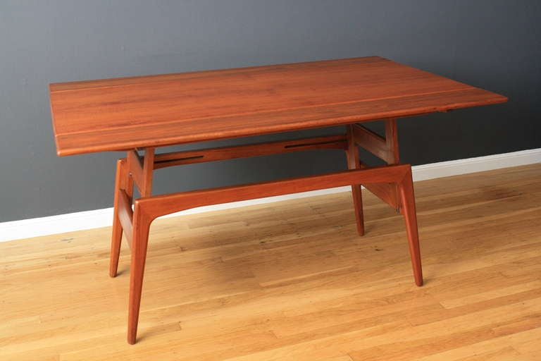 Danish Modern Quot Metamorphic Quot Table By Trioh At 1stdibs