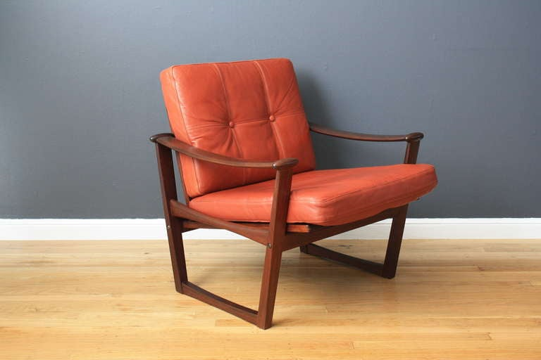 Danish Modern Lounge Chair by Finn Juhl 2