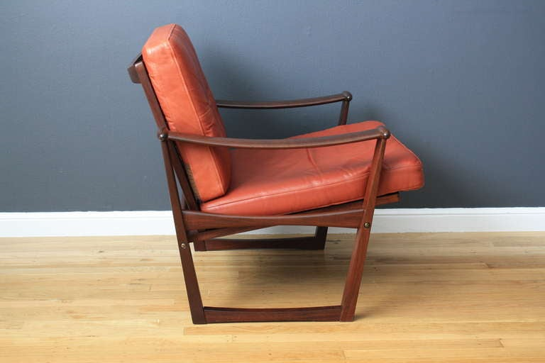 Danish Modern Lounge Chair by Finn Juhl 3
