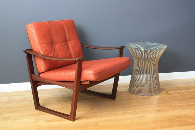 Danish Modern Lounge Chair by Finn Juhl 4