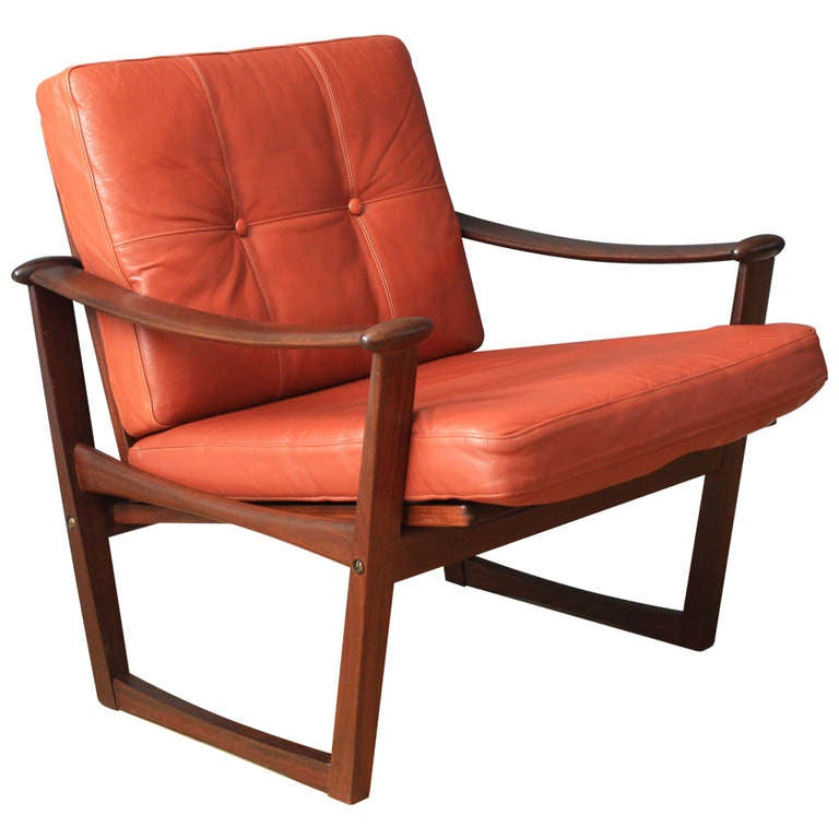 Danish Modern Lounge Chair by Finn Juhl 1