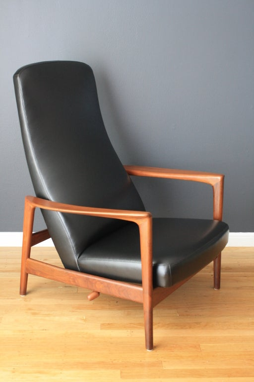 Mid-Century Modern Recliner By Folke Ohlsson For Dux At