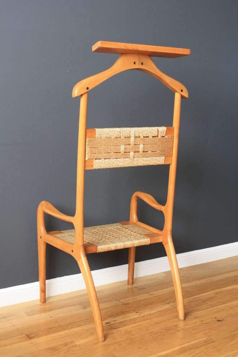 vintage mid century  quot valet quot  chair at 1stdibs butlers chartered accountants rayleigh butler characters