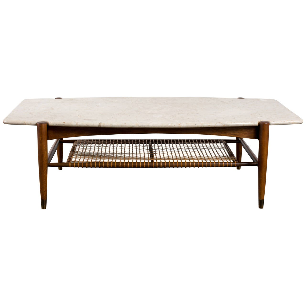 Vintage Mid Century Coffee Table By Folke Ohlsson At 1stdibs