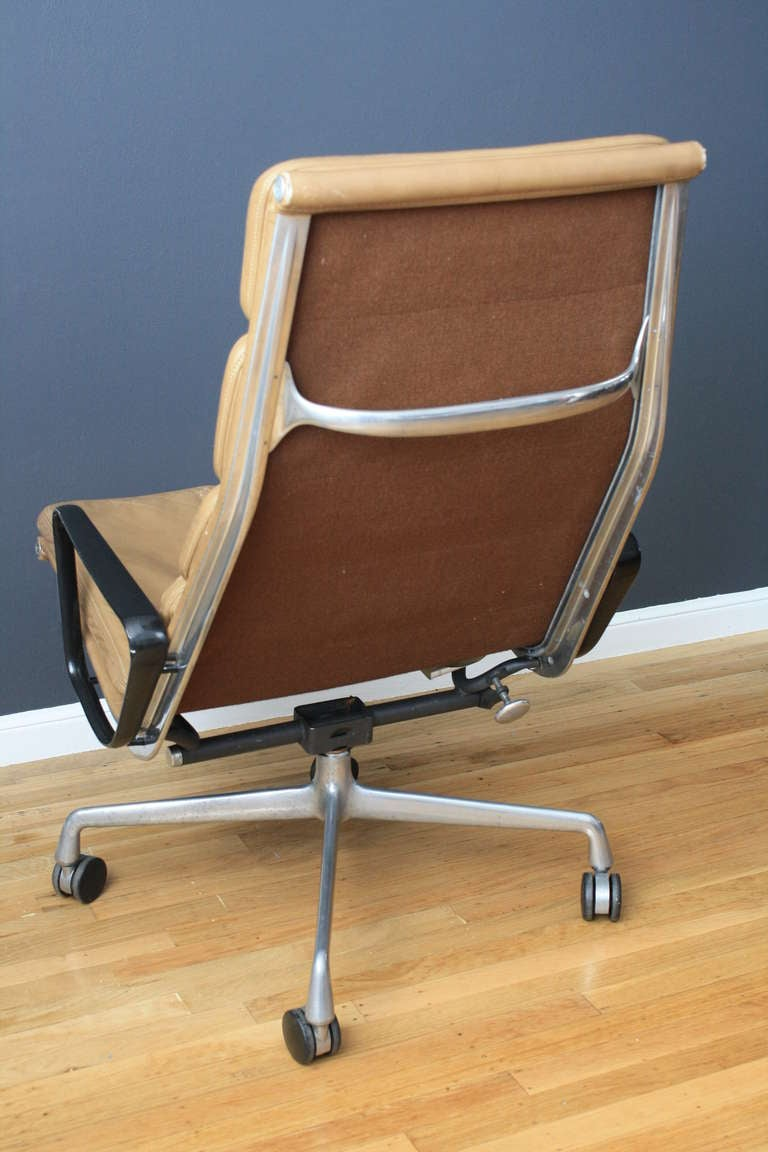 Vintage Softpad Lounge Chair by Eames for Herman Miller at 1stdibs