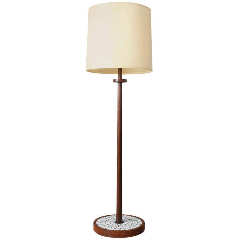 vintage mid century martz floor lamp at 1stdibs. Black Bedroom Furniture Sets. Home Design Ideas