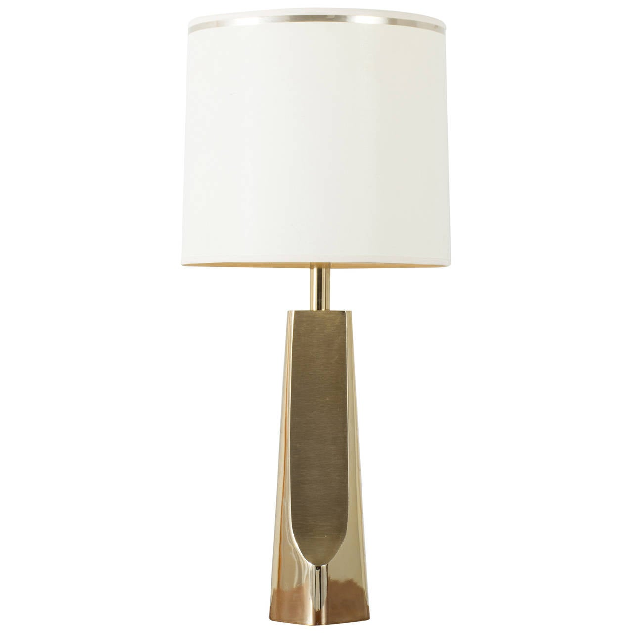 this vintage mid century brass table lamp by laurel lamp is no longer. Black Bedroom Furniture Sets. Home Design Ideas