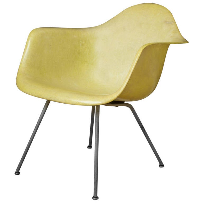 Vintage Mid-Century Eames LAX Shell Chair For Sale
