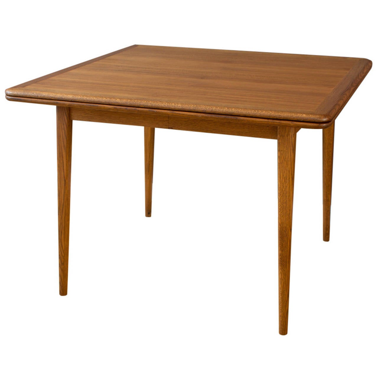 Vintage Mid Century Flip Top Dining Table At 1stdibs
