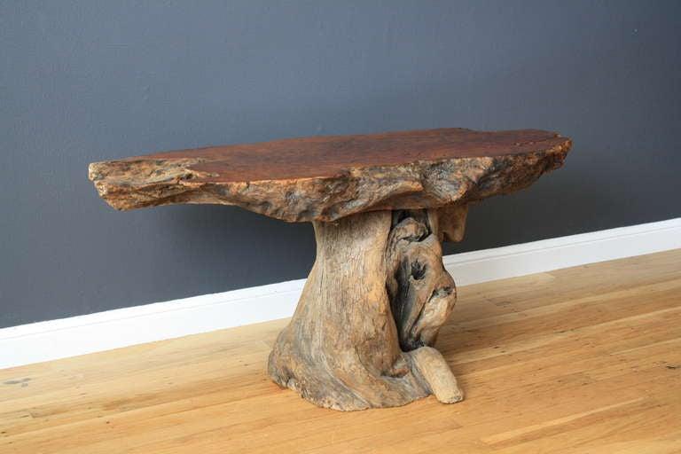 Vintage Burl Wood Table 5