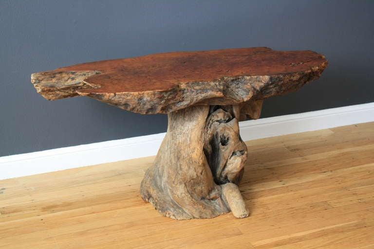 Vintage Burl Wood Table 6
