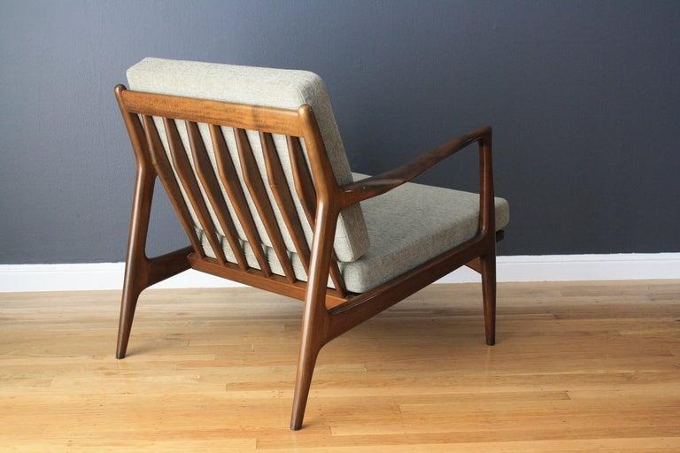 Danish Modern Selig Lounge Chair at 1stdibs