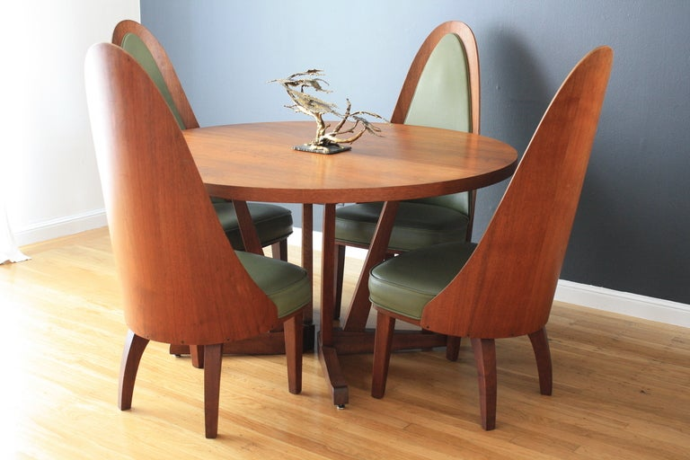 Mid Century Modern Dining Table And Chairs By Chet Beardsley Image 2